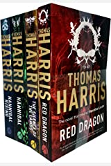 Hannibal Lecter Series Collection 4 Books Set by Thomas Harris (Red Dragon, Silence Of The Lambs, Hannibal, Hannibal Rising) Paperback