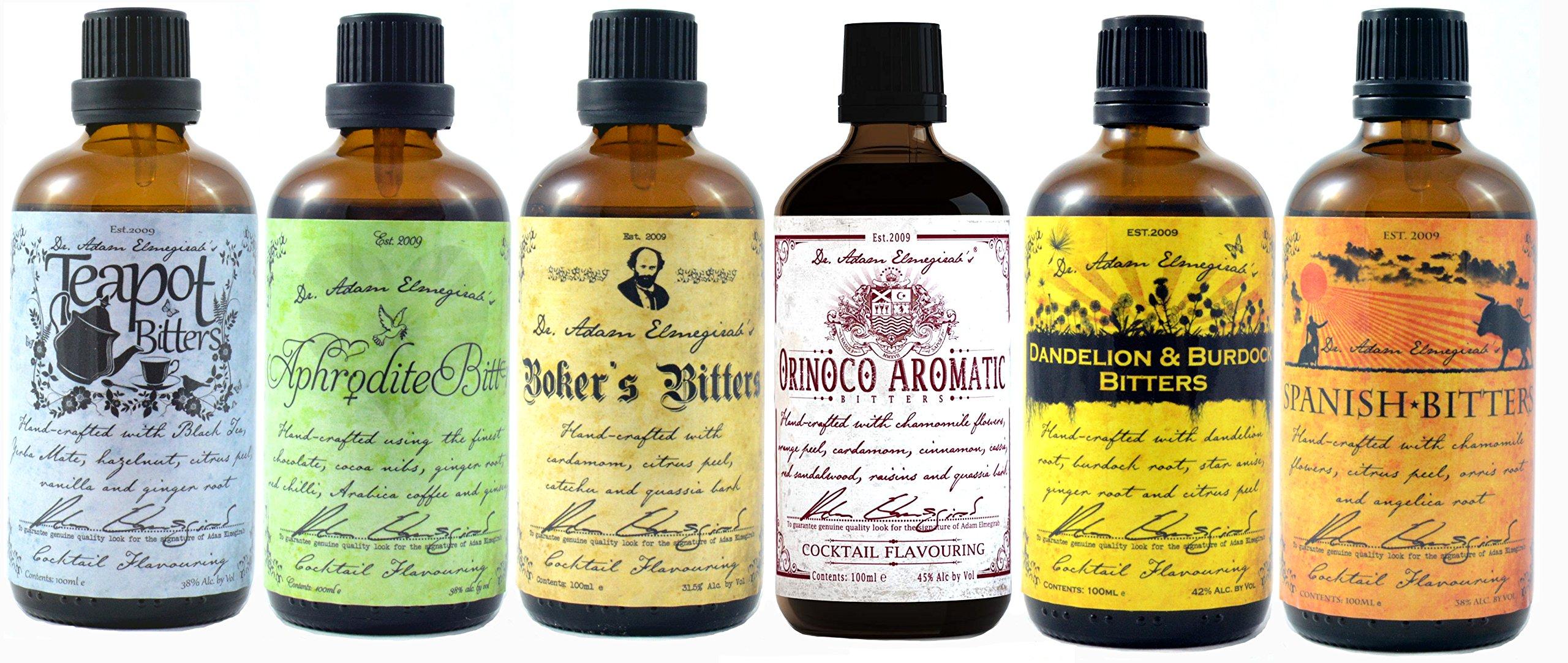 Dr Adam Elmegirab Cocktail Bitters Set of 6