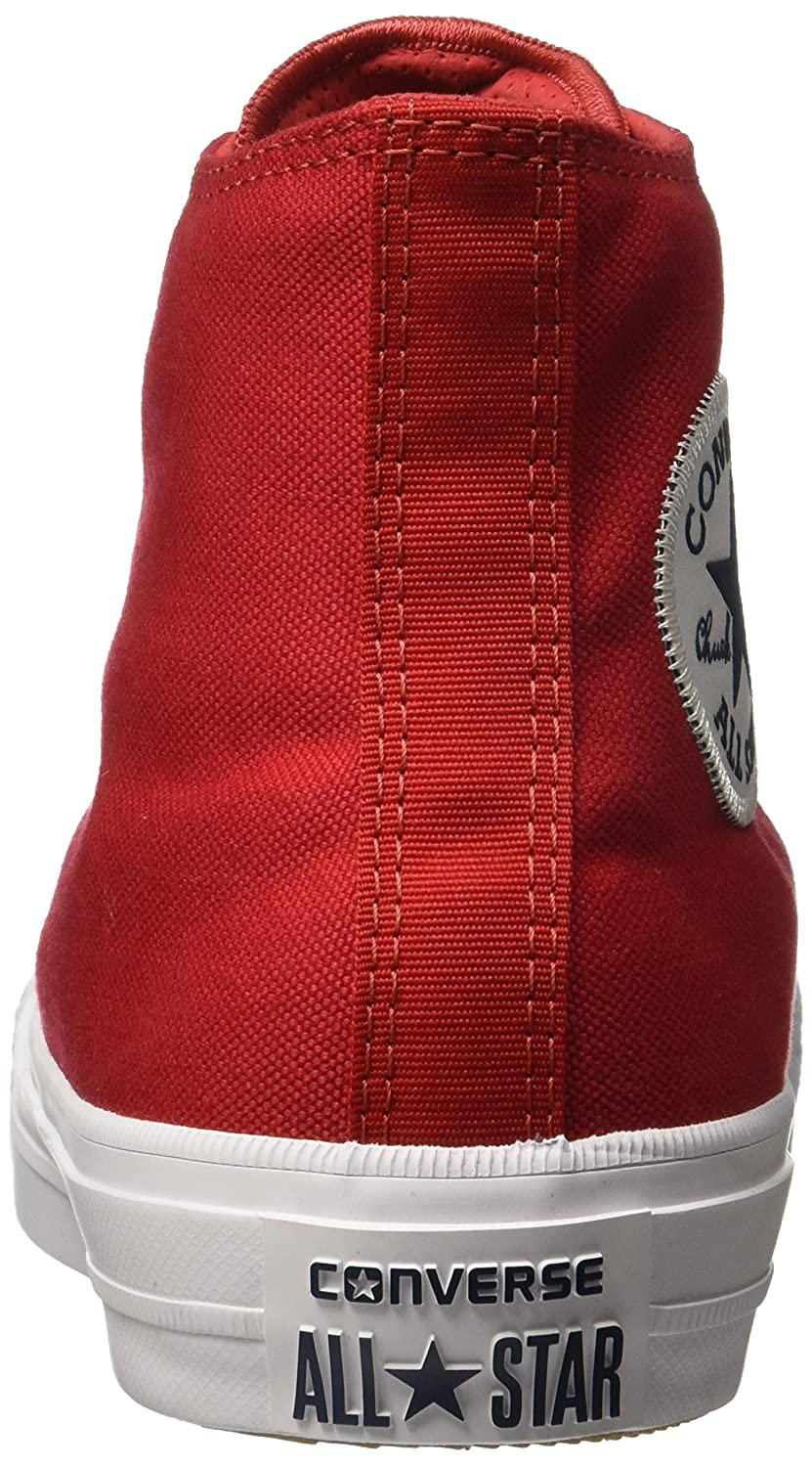 Converse Chuck Taylor All Star II High B010S59RH8 14 D(M) US|Salsa Red/White/Navy
