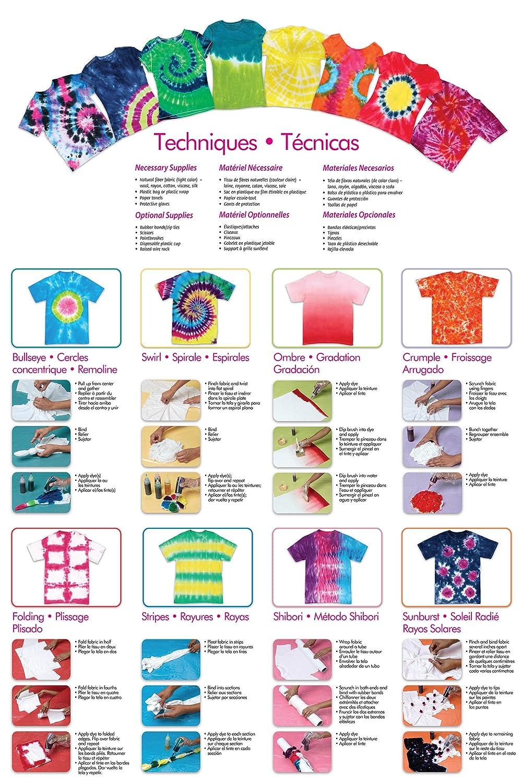 Amazon Tulip One Step 5 Color Tie Dye Kits Ultimate 15oz