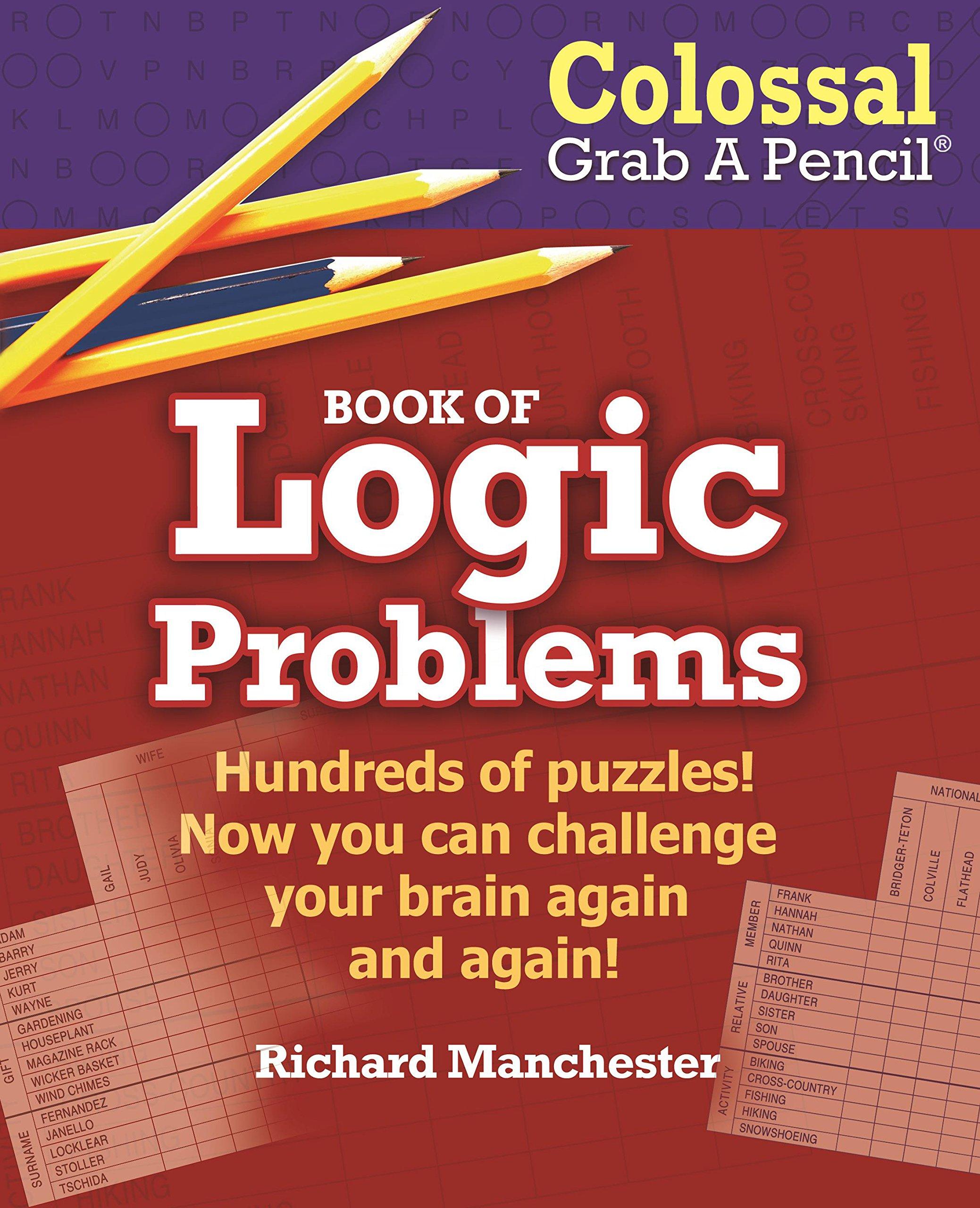 Colossal Grab A Pencil Book of Logic Problems pdf epub