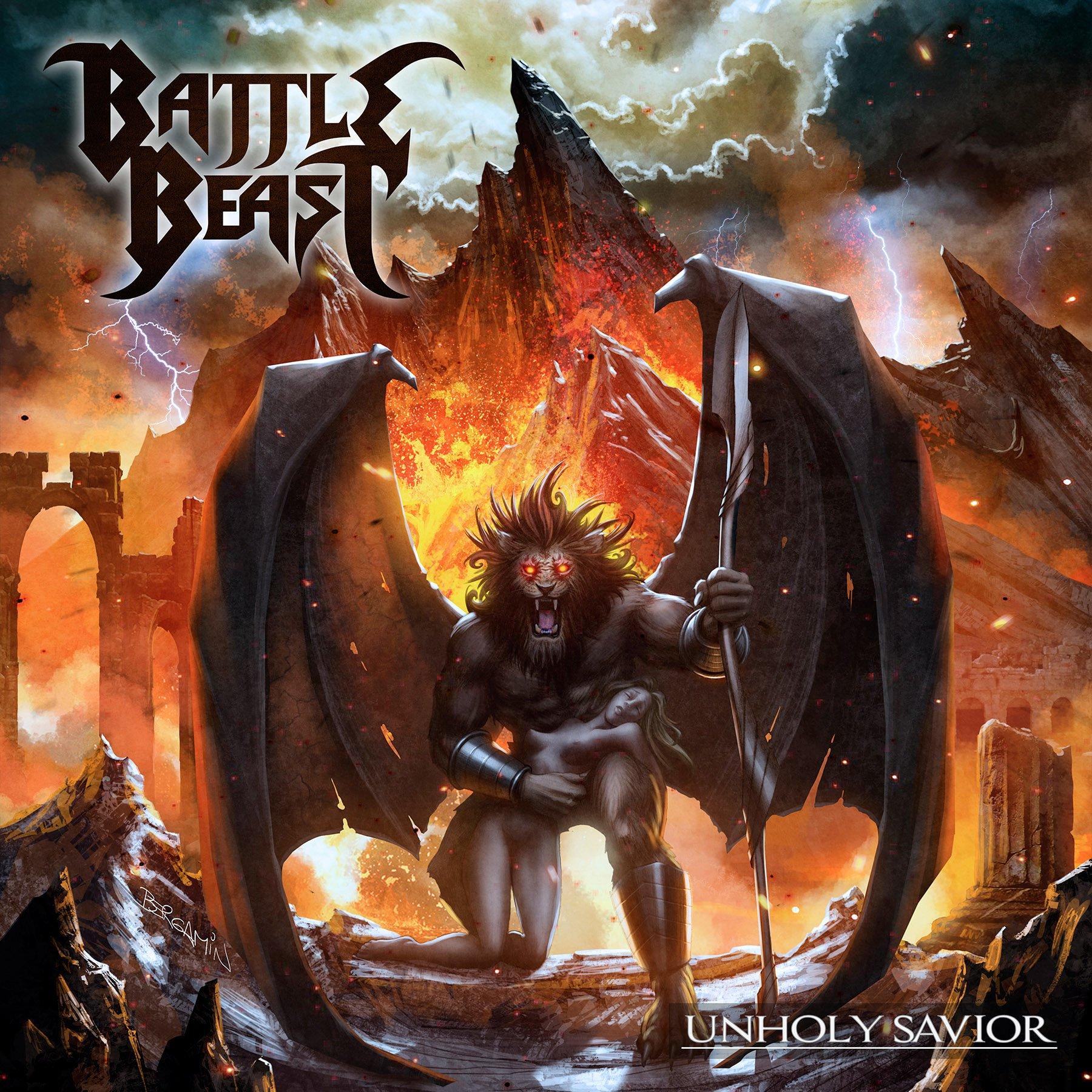 CD : Battle Beast - Unholy Savior (CD)