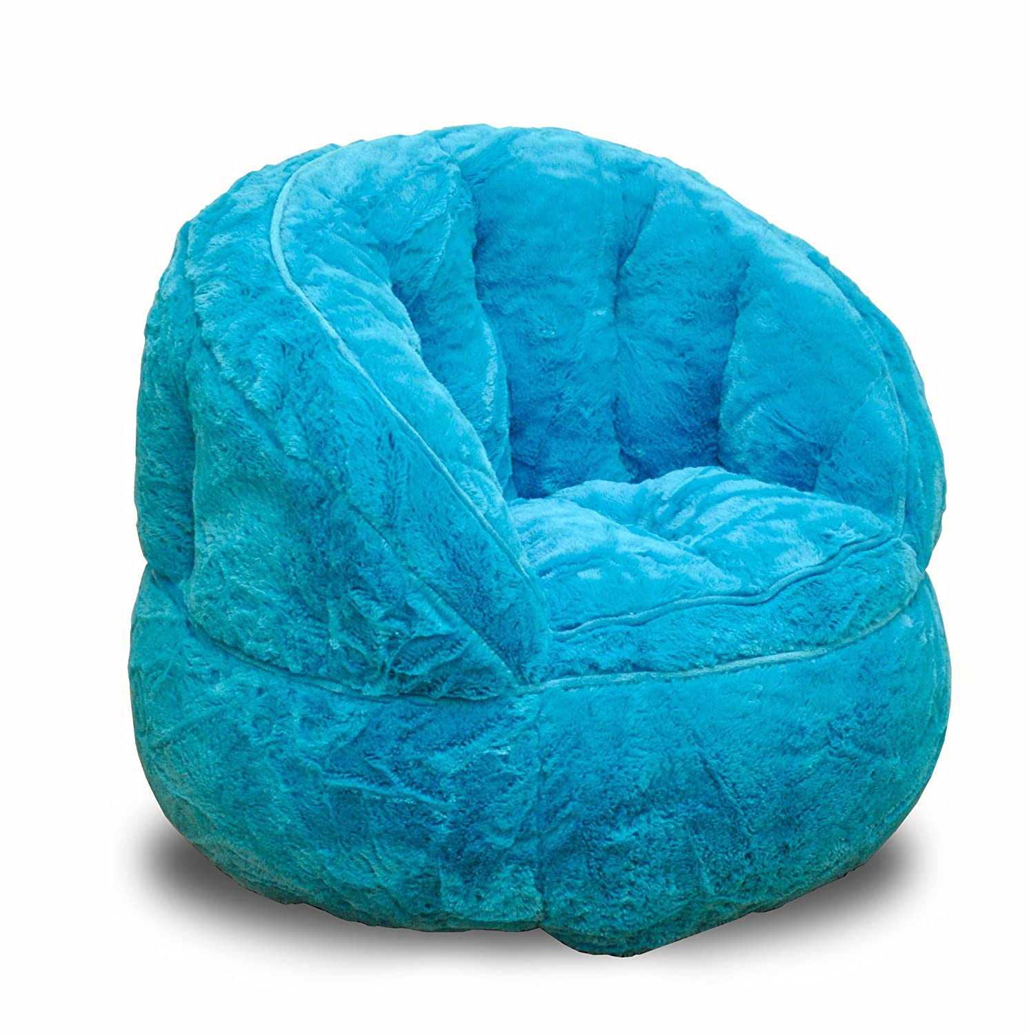 Miraculous Heritage Kids Toddler Rabbit Fur Bean Bag Chair Teal Pdpeps Interior Chair Design Pdpepsorg