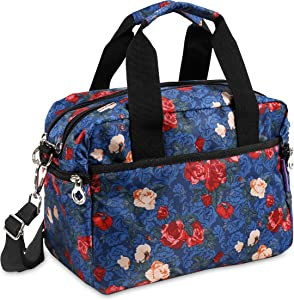 J World New York Aby Bag Travel Tote, Vintage Rose, One Size