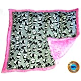 Weighted Sensory Lap Pads - from 3 to 12 lbs & More than 10 Designs (5 lbs, Panda Party!)