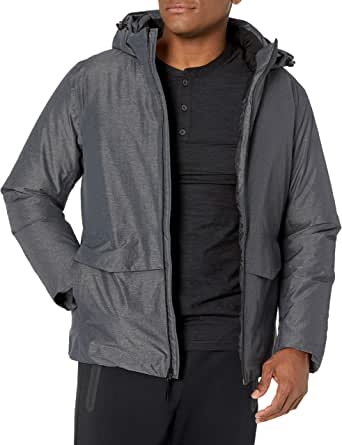 Marca Amazon - Peak Velocity Chaqueta Snow Tech Con Forro Acolchado. - down-alternative-outerwear-coats Hombre