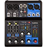 Kadence AG06 6 Channel USB Mixer with Effects