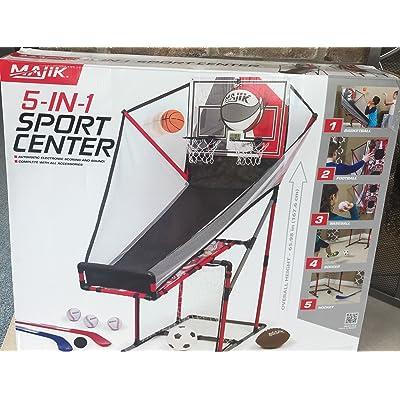 Majik 5-in-1 Sports Center: Toys & Games