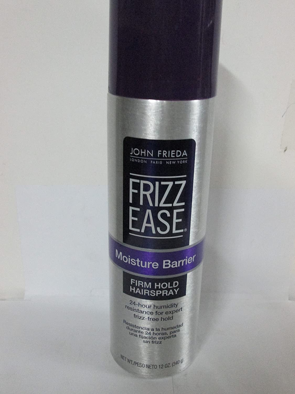 John Frieda Frizz-Ease Moist Barrier Firm Hold Spray 12 Ounce (354ml) (2 Pack)