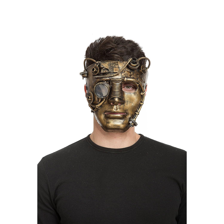 mascara de steampunk