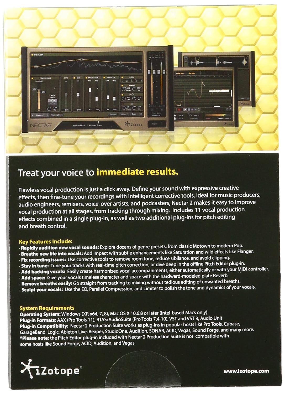iZotope Nectar 2 Production Suite: Professional Vocal Audio