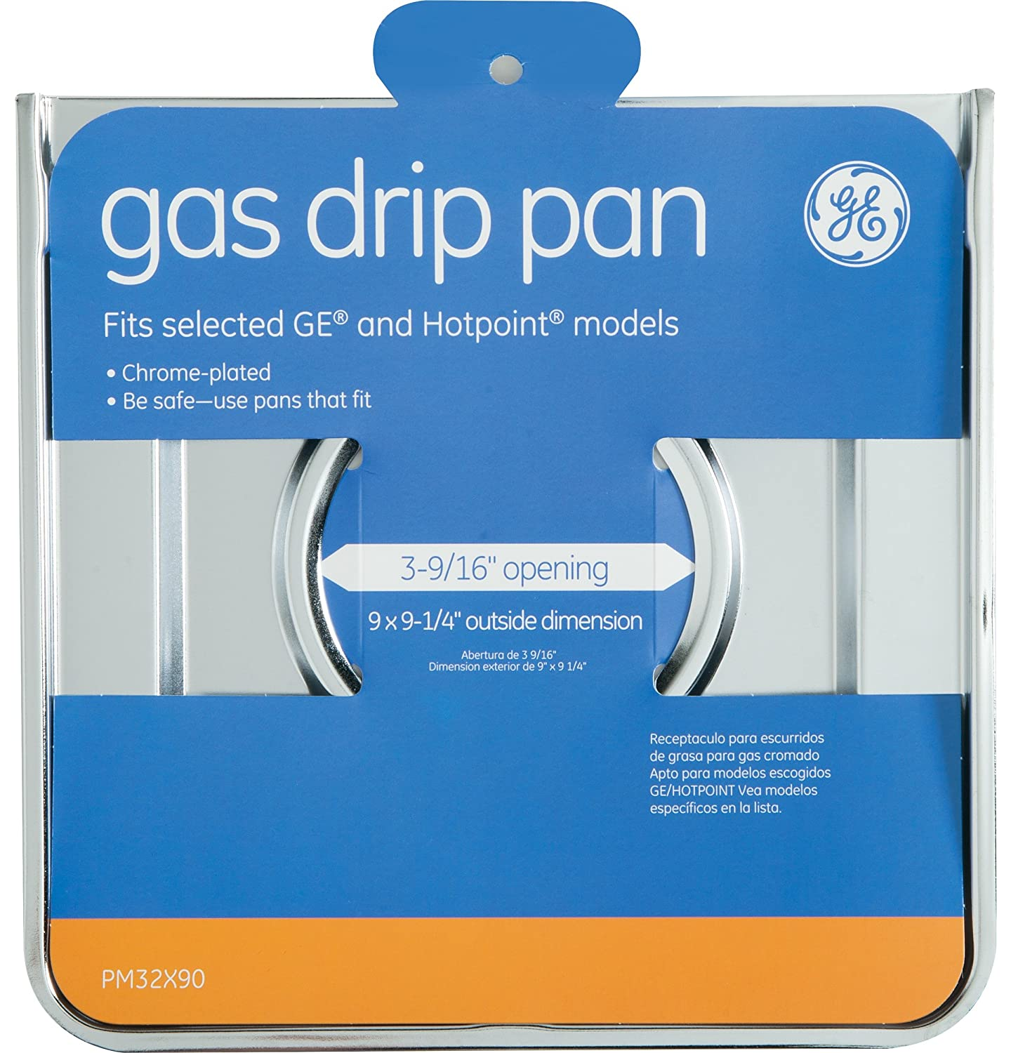 Amazon.com: Gas Drip Pan For GE And Hotpoint Gas Ranges ...