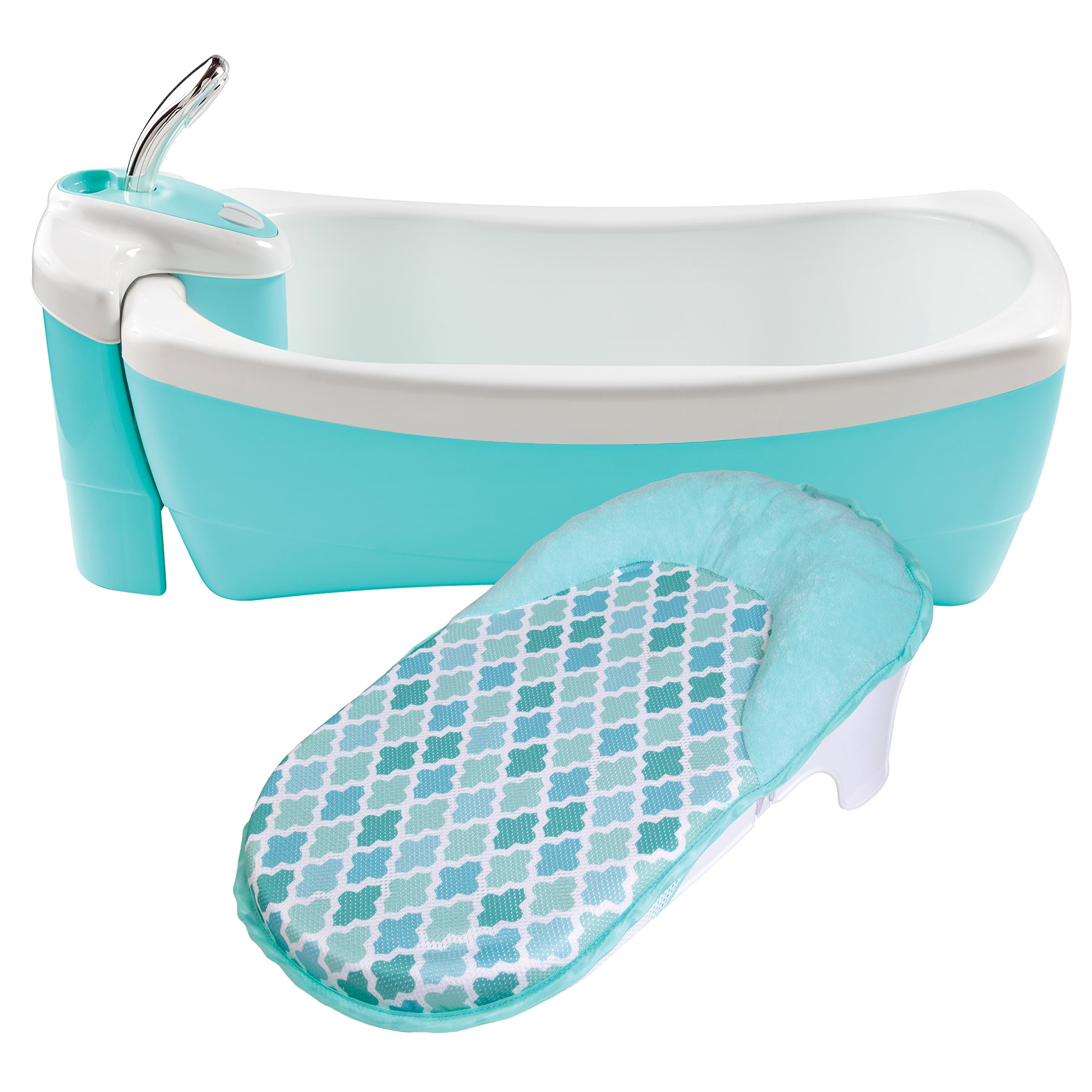 Summer Lil Luxuries Whirlpool, Bubbling Spa & Shower, Blue by Summer Infant