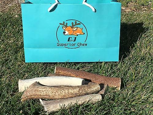 1 Pound 2 3 Piece Large-Extra Lbs Fresh Premium Elk Deer Antler Dog Chew Inner Core New