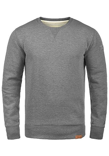 Blend Alex Jersey Sudadera Suéter Para Hombre Con Cuello Redondo Con Forro Polar Suave Al Tacto Ropa deportiva