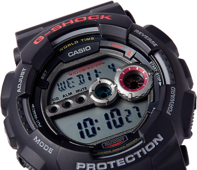 Casio G-SHOCK Orologio 20 BAR, Digitale, Uomo Grigio