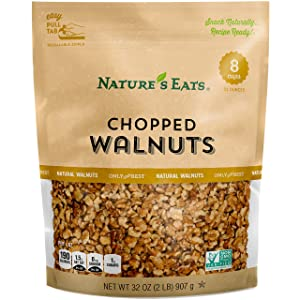 Nature's Eats Chopped Walnut, 32 Ounce