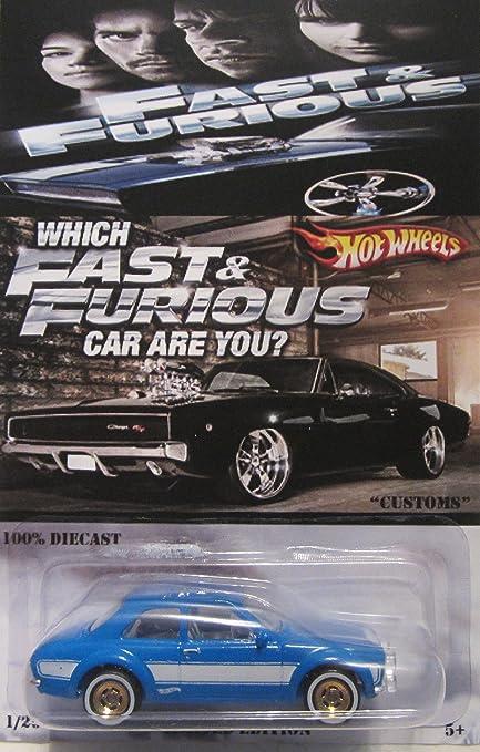 Amazon.com: Hot Wheels Custom 70 Ford Escort RS1600 Fast ...
