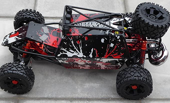Rovan Baja 305gt 1 5 Scale Petrol Rc Truck Buggy 30 5cc Engine With Ngk Plugs And Walbro Carburetor Amazon Co Uk Toys Games