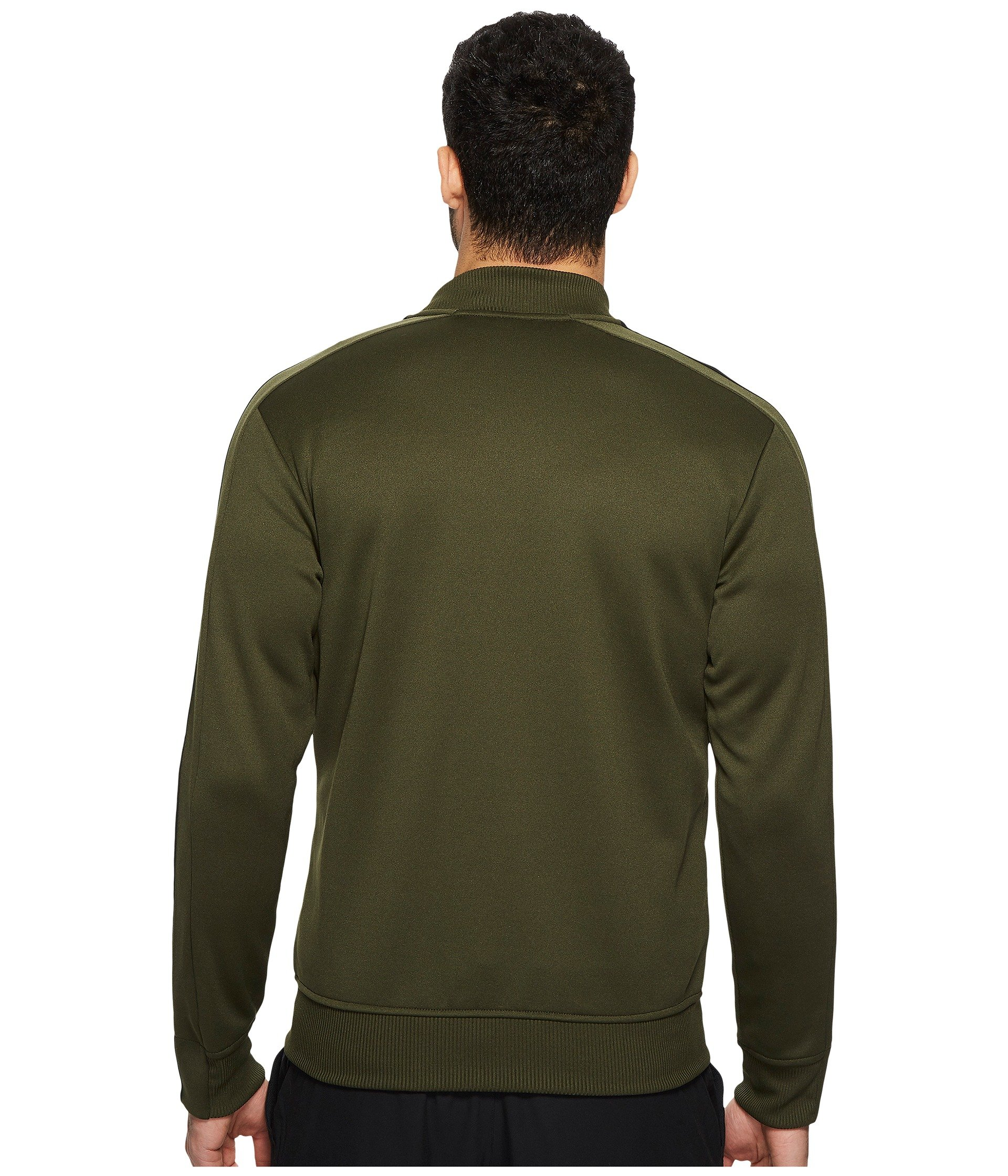 adidas Men's Sport ID Track Bomber Jacket Night Cargo Small by adidas (Image #4)