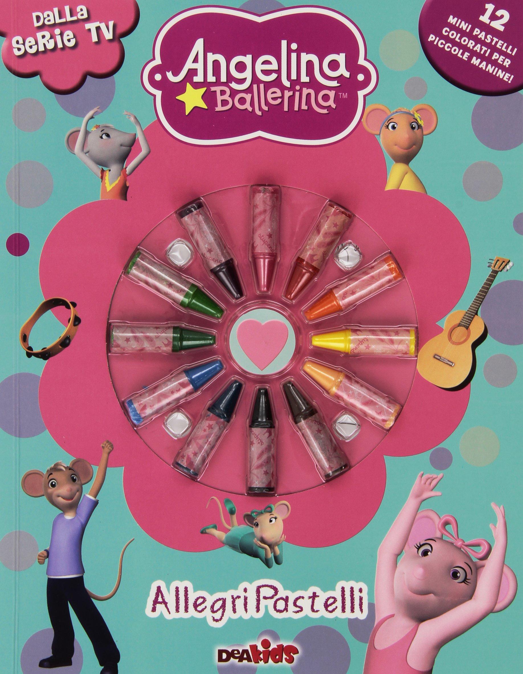Disegni Da Colorare Di Angelina Ballerina.Amazon It Allegri Pastelli Angelina Ballerina Ediz Illustrata