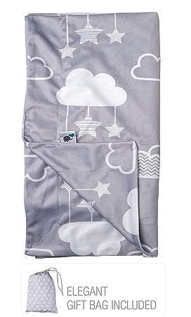 Amazon.com: Manta de bebé Minky de 30.0 x 40.0 in ...