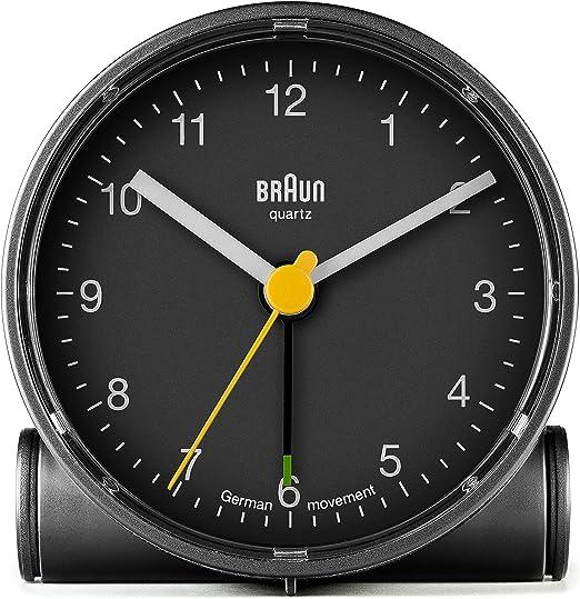 Braun BNC001BK R/éveil classique avec fonction dalarme crescendo Noir