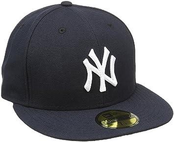A NEW ERA Era Baseball Cap MÃŒtze Mlb Authentic NY Yankees 59Fifty Fitted  Team Colour - Gorra de ciclismo para hombre d5f6ff4d084