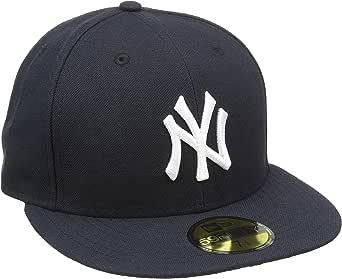 A NEW ERA Era NY 59FIFTY Authentic Kappe 10010268 7 1/2, Navy ...