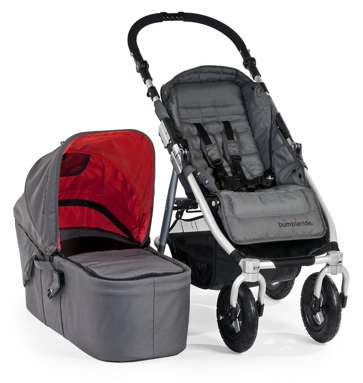 Amazon Bumbleride In 4 Urban All Terrain Stroller with Bassinet Fog Grey Baby