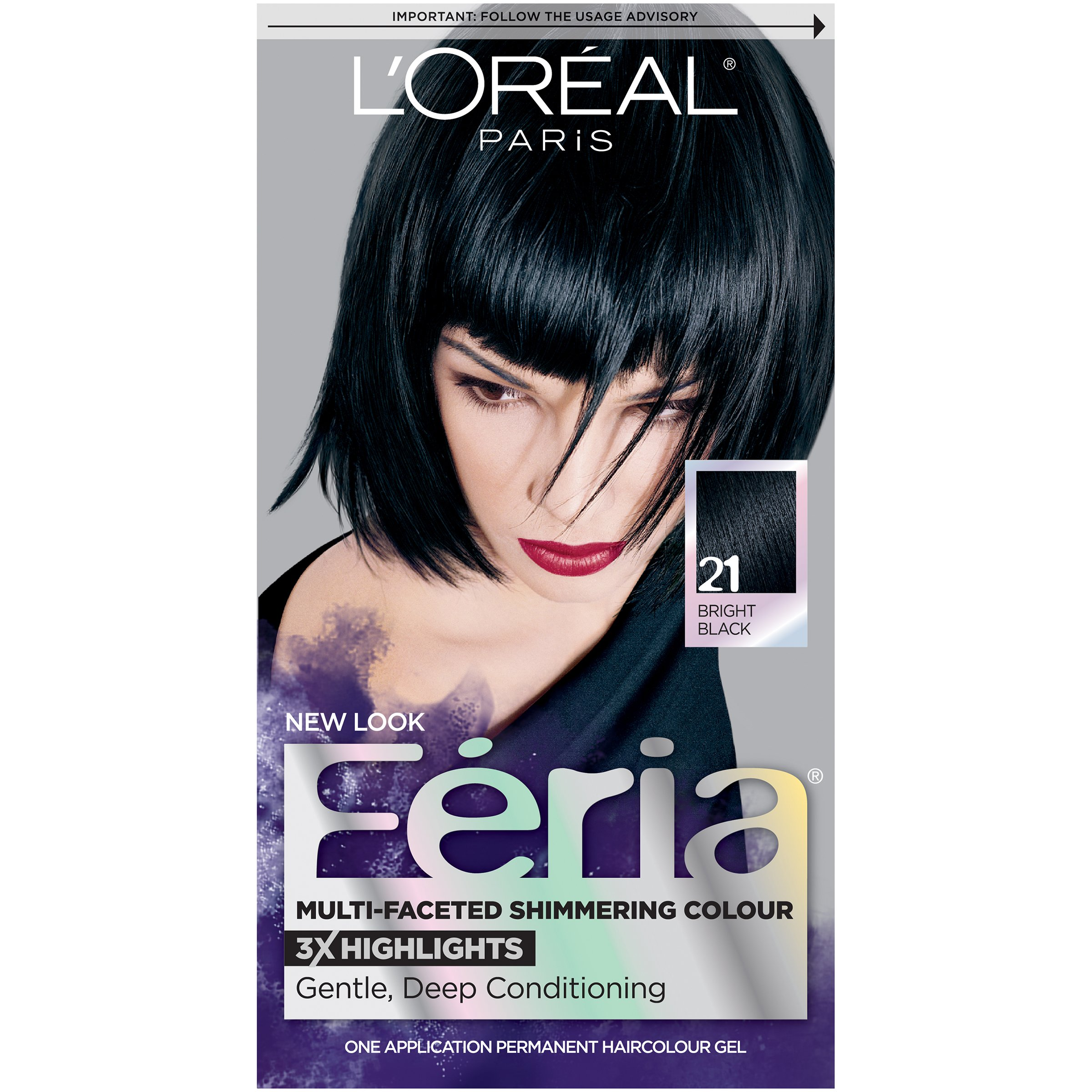 Amazon Loral Paris Feria Permanent Hair Color 20 Black