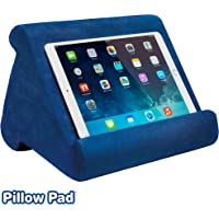 Ontel Pillow Pad Multi-Angle Soft Tablet Stand, Blue