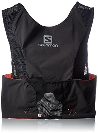 1d655cc8 Salomon Unisex's S-Lab Sense Ultra Set Backpack-Black/White/Red, X Small