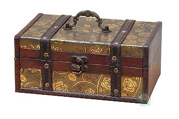 vintiquewisetm decorative storage box 9 by 6 by 4 inch - Decorative Storage Box