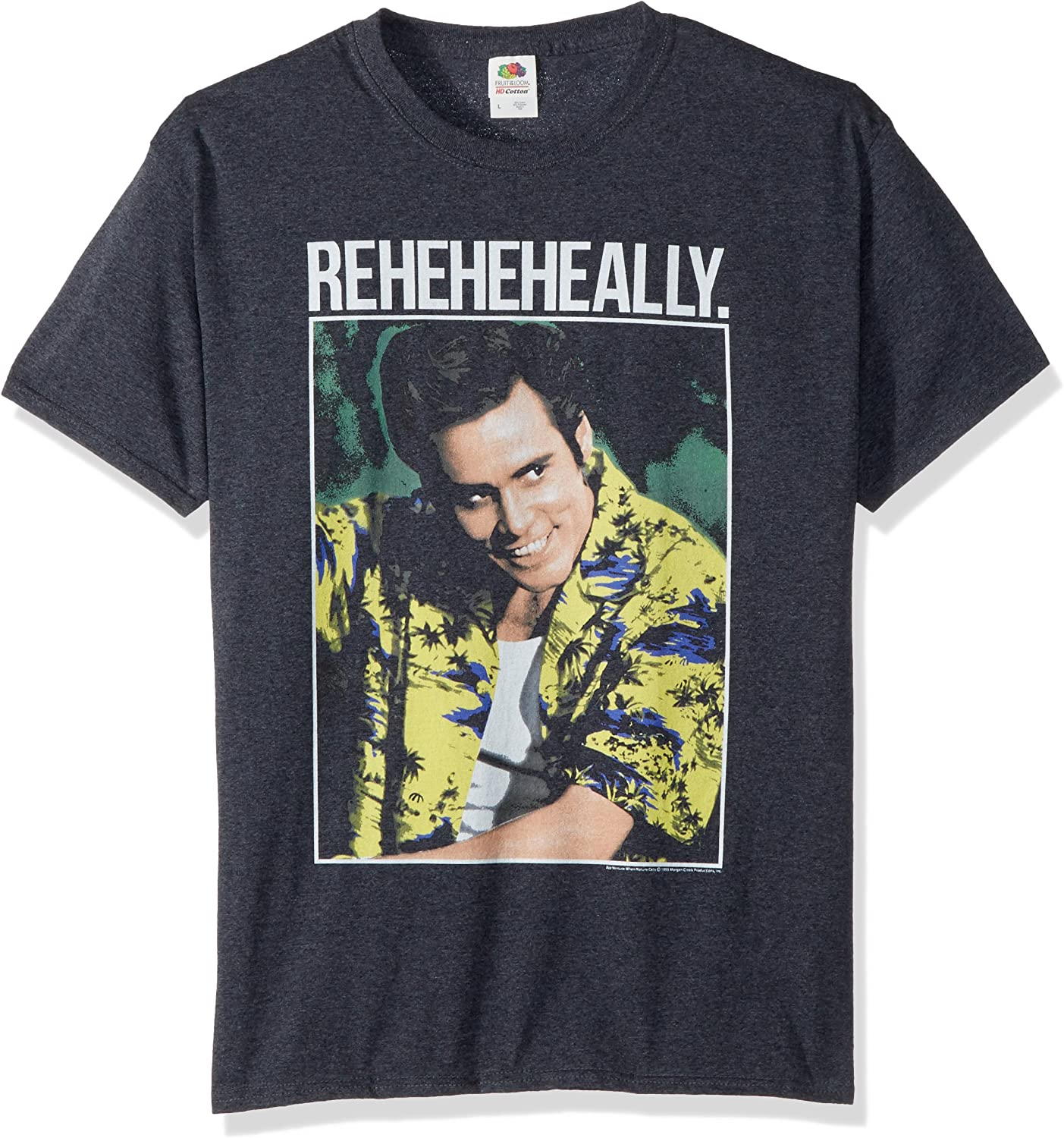 American Classics Men's Ace Ventura Reheheheally Adult Short Sleeve T-Shirt