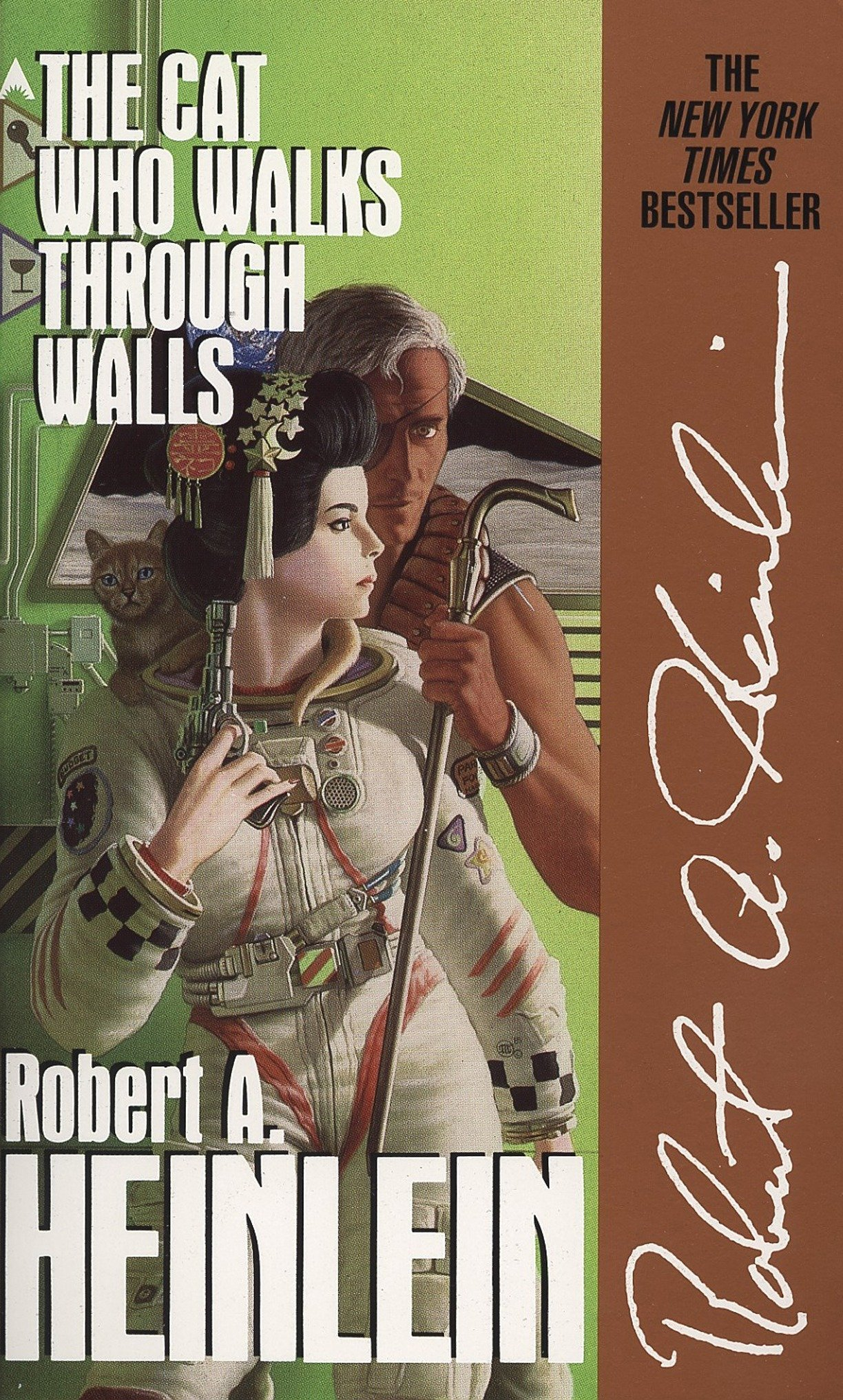 Amazon.com: The Cat Who Walks through Walls (9780441094998): Robert ...