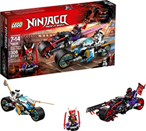 LEGO NINJAGO Street Race of Snake Jaguar 70639 Building Kit (308 Pieces)