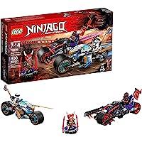 LEGO Ninjago 6212310 Street Race of Snake Jaguar 70639 Building Kit (308 Piece)