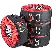 Rueda Premium bolsas de almacenamiento conjunto de 4