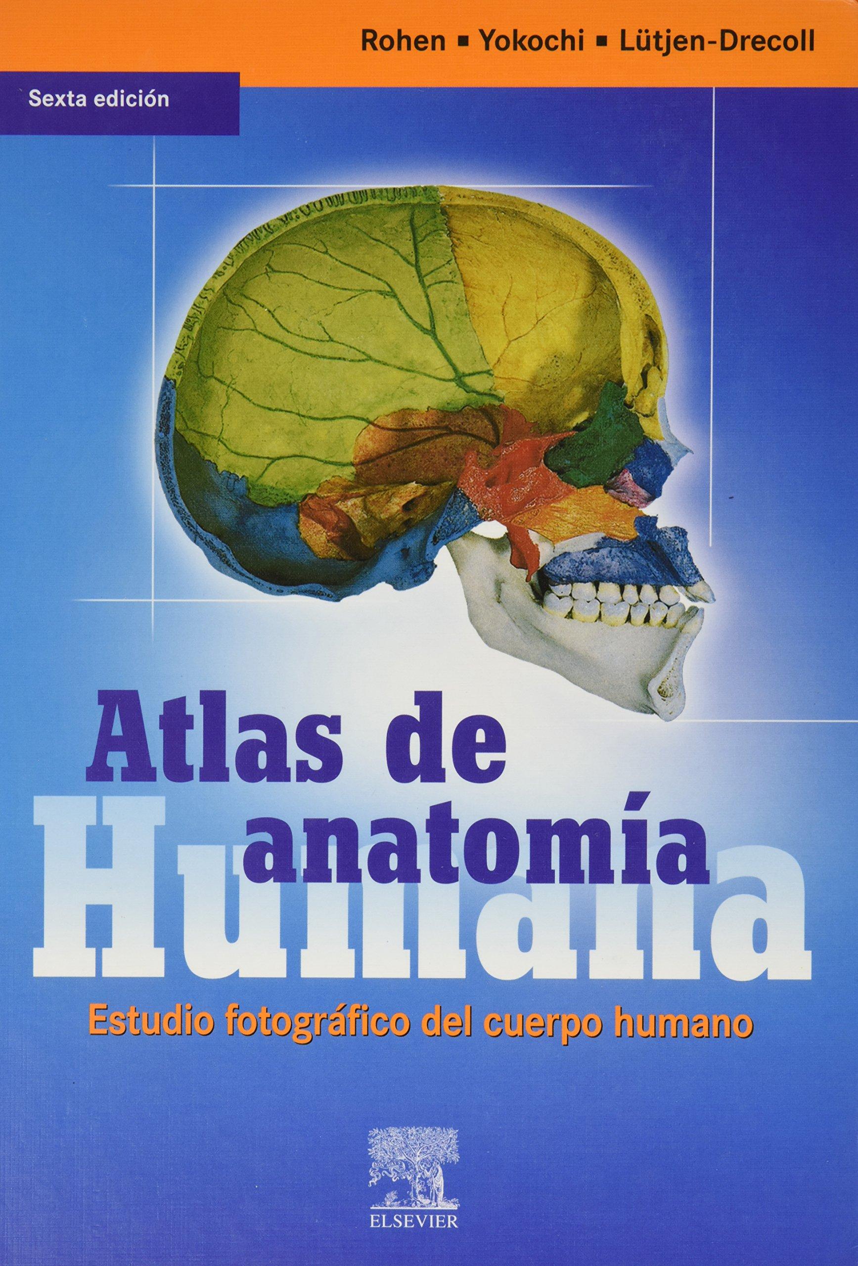 Atlas de anatomia humana. estudio fotografico del cuerpo humano ...