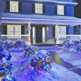 NOMA LED Christmas Lights   50-Count C9 Clear