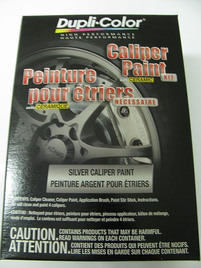 Dupli Color Cbcp40300 Brake Caliper Kit Silver 1 Non Carb Compliant Brake Kits Amazon Canada