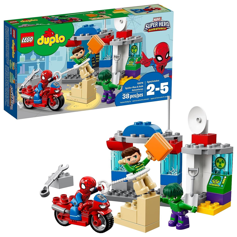 LEGO Duplo Super Heroes Duplo Super Heroes Spider-Man & Hulk Adventures 10876,,