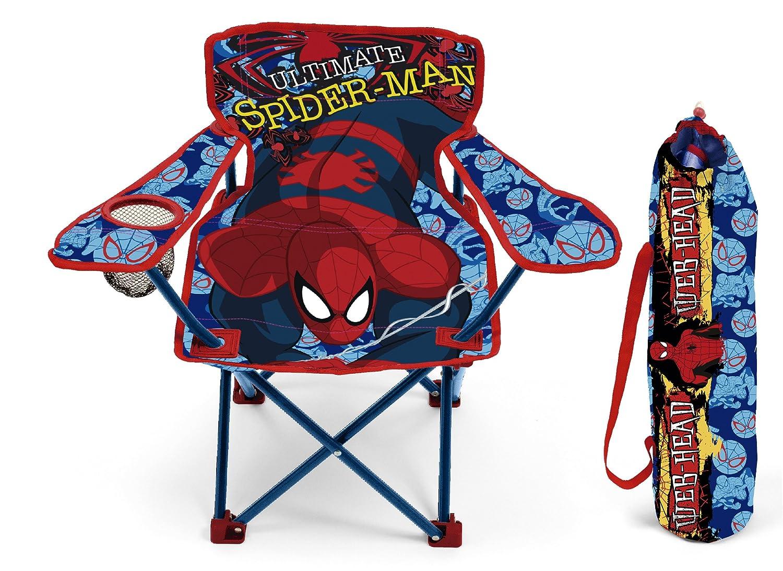 Silla plegable con brazos y funda dise/ño Spiderman Arditex SM9461