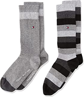 6006b35a6 Tommy Hilfiger Boy's Ankle Socks, (Pack of 2): Amazon.co.uk: Clothing