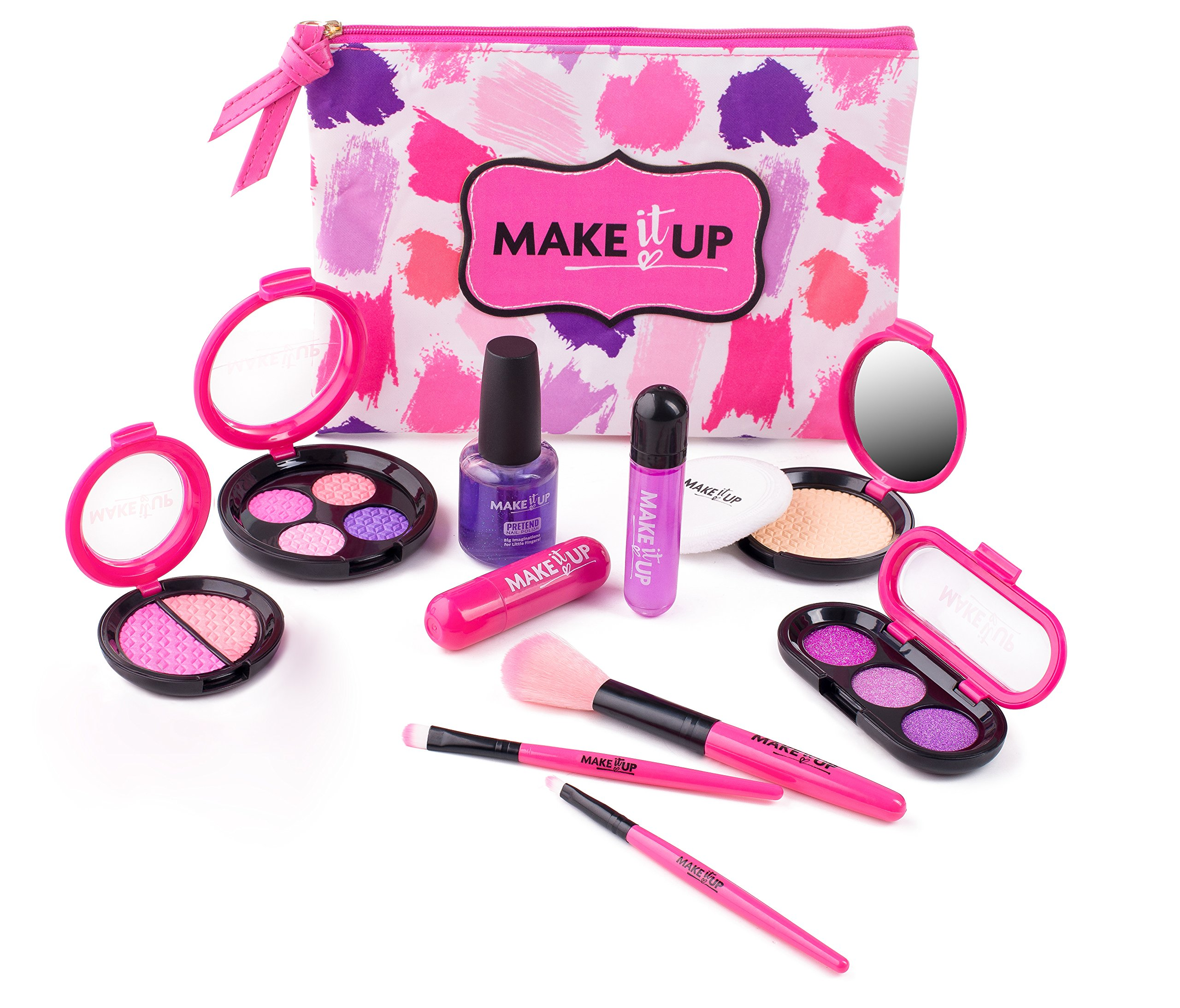 Premium Pretend Play Cosmetics and Makeup Kit for Girls