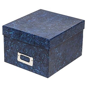 ALBOX57BLUE rígido álbum de fotos de fotografía de caja de regalo de almacenamiento de Company.