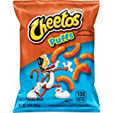 Cheetos Puffs Cheese Flavored Snacks, 0.875 Ounce (Pack of 104)