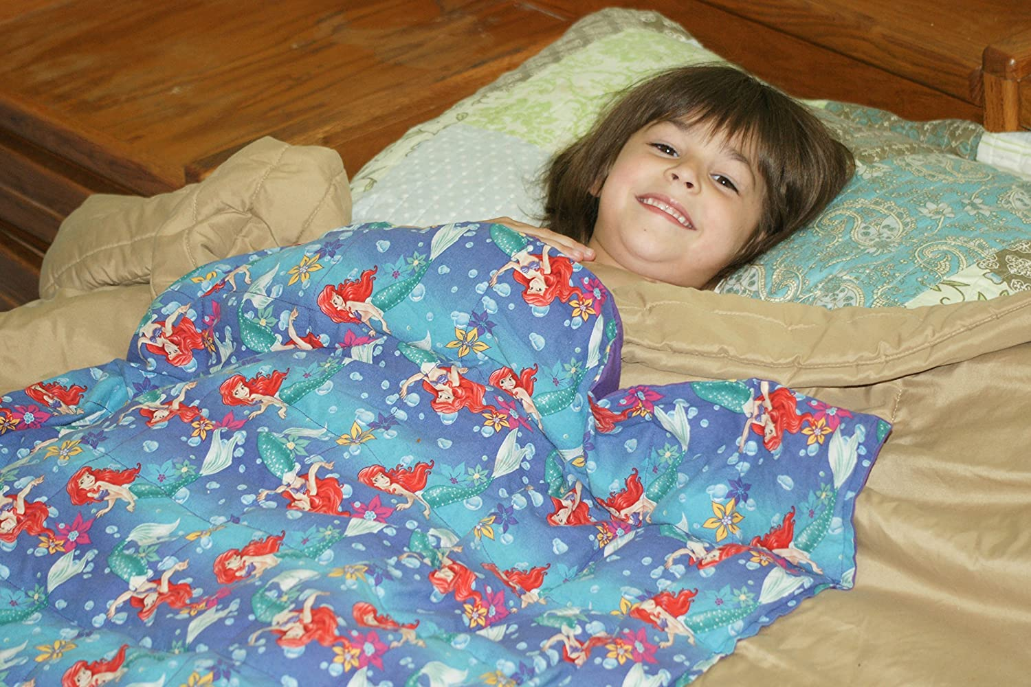 Custom Weighted Blanket Multiple Size Options (helps with sensory conditions) Solid Colors Only Couverture pondérée personnalisée, Options de taille multiple, Seule couleur solide