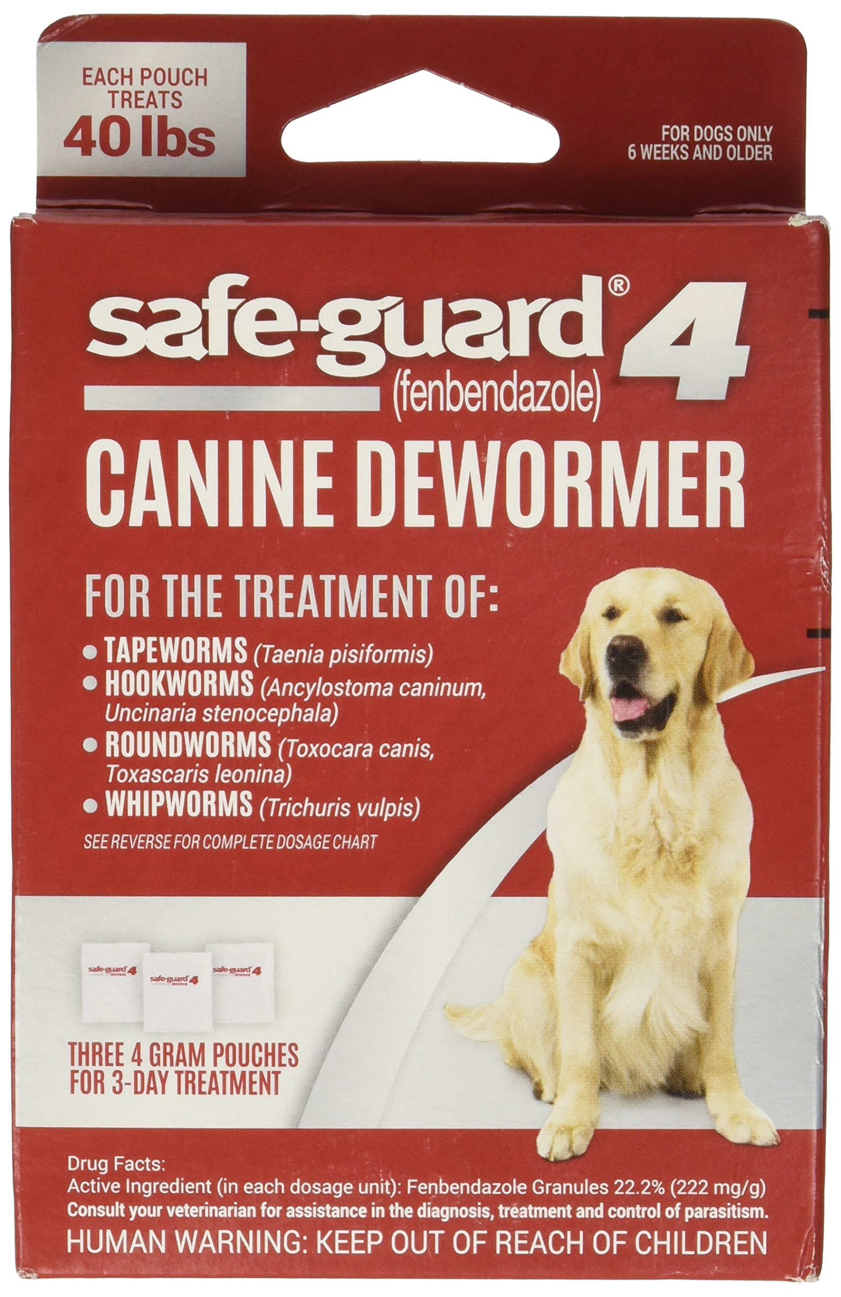 UPG - COMPANION ANIMAL Eio Wormer Safeguard 4 Lg Dog by UPG - COMPANION ANIMAL
